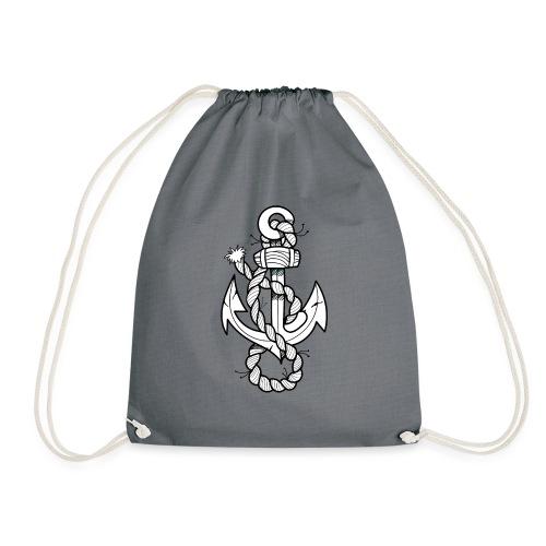 Cool Anchor - Drawstring Bag