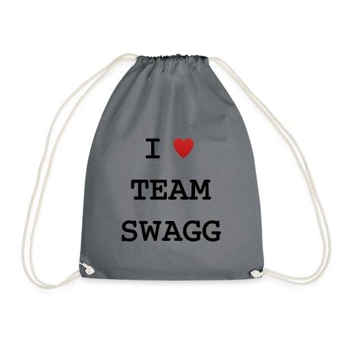 I LOVE TEAMSWAGG - Sac de sport léger