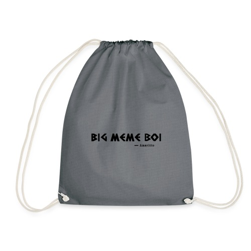 the first quote by amaritto - Drawstring Bag