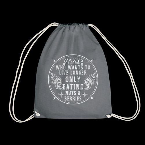 WAXYS NUTS BERRIES 05 - Drawstring Bag