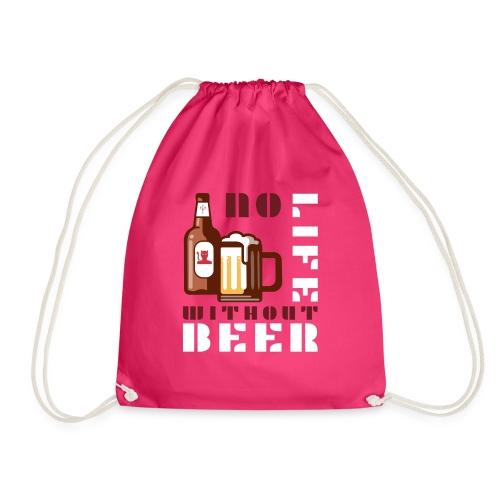 No life without beer - Sac de sport léger