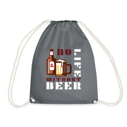 No life without beer - Sac de sport léger