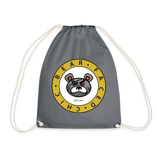 Bear Faced Chic Original Logo - Drawstring Bag