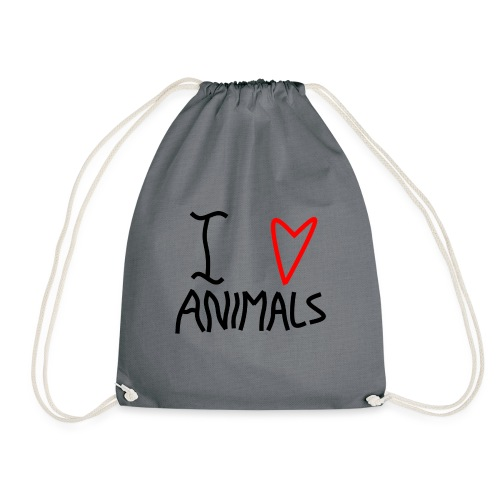 I Love Animals - Sportstaske