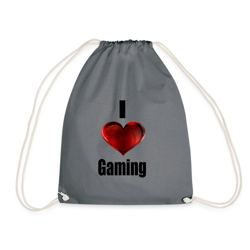 i love gaming - Turnbeutel