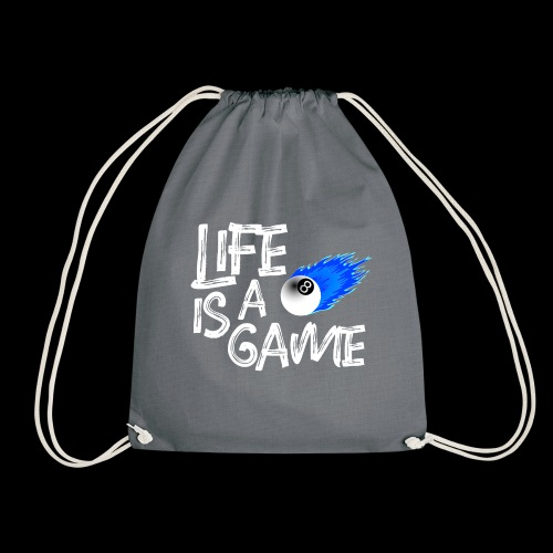 life is a game - Drawstring Bag