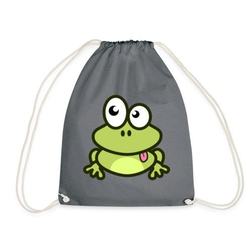 epic frog - Drawstring Bag