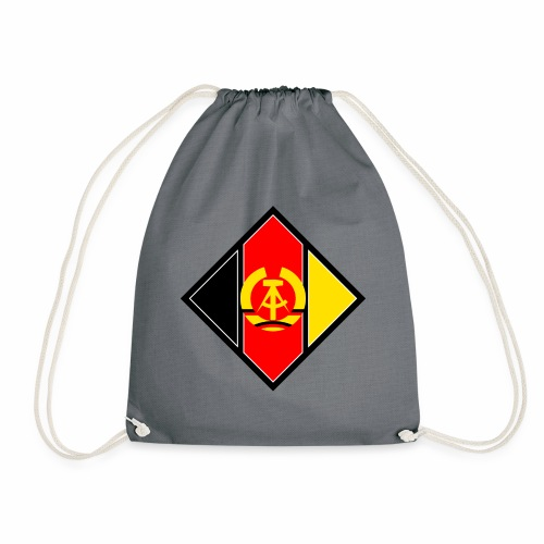DDR coat of arms stylized - Drawstring Bag