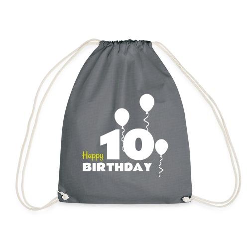 HAPPY birthday10 - Mochila saco