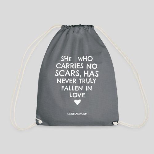 theLinne Heart - Drawstring Bag