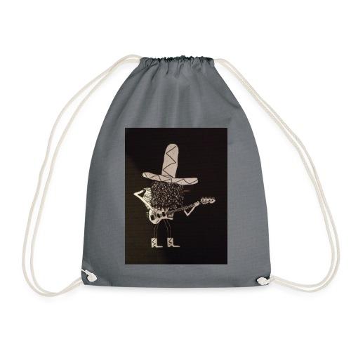 Mexican Bass Player - Drawstring Bag