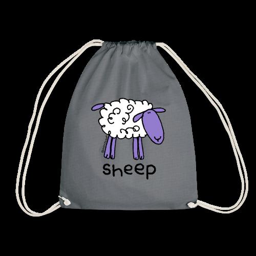 'sheep' - bang on the door - Drawstring Bag