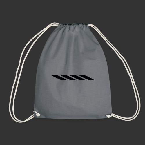 Rope With Bite Logo - Drawstring Bag