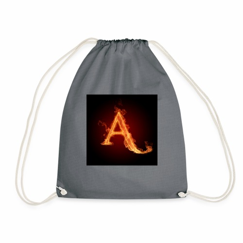 The letter A the letter a 22186960 2560 2560 - Drawstring Bag