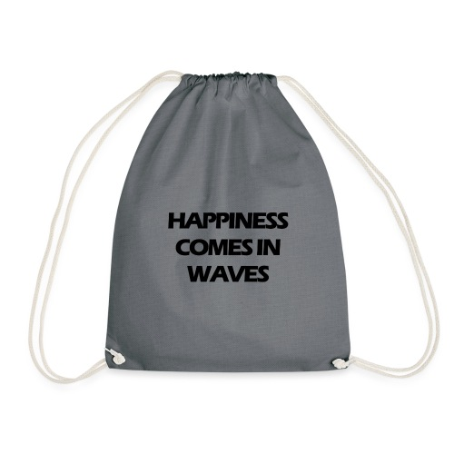 Happiness comes in waves - Gymnastikpåse