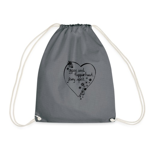 gypsy soul. - Drawstring Bag