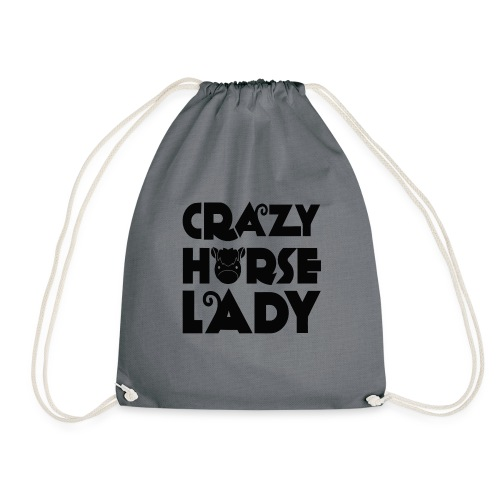 Crazy Horse Lady - Drawstring Bag