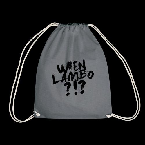 When Lambo?!? | Crypto Shirt - Turnbeutel
