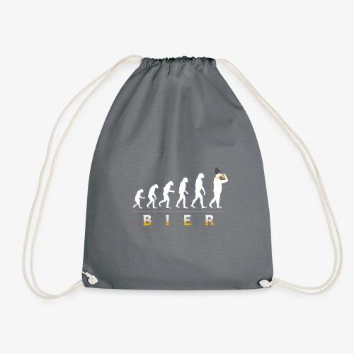 Bier Evolution. Männer Bier Shirt Geschenk Idee - Turnbeutel