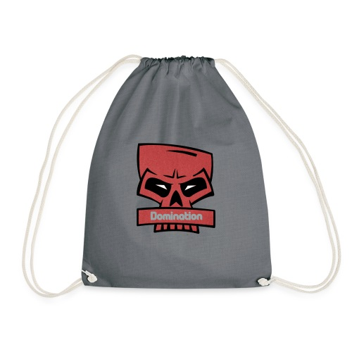 Domination red skull - Gymbag