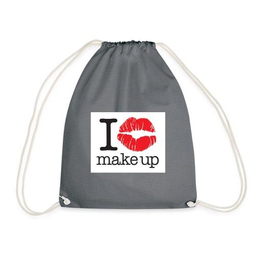 i love makeup - Drawstring Bag