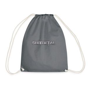 Gunmetal - Drawstring Bag
