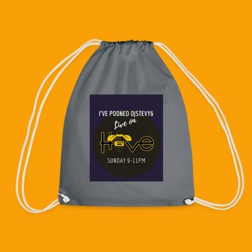 djstevy6 pooned - Drawstring Bag