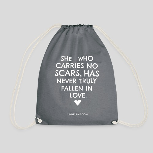 theLinne Heart - Drawstring Bag