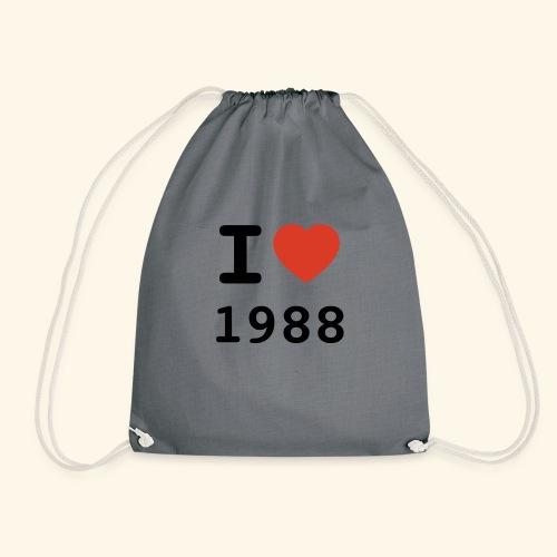 I Love 88 b 001 - Turnbeutel