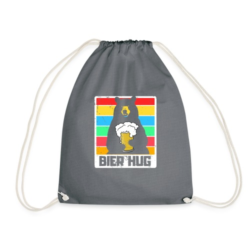 Bier Umarmung - Turnbeutel