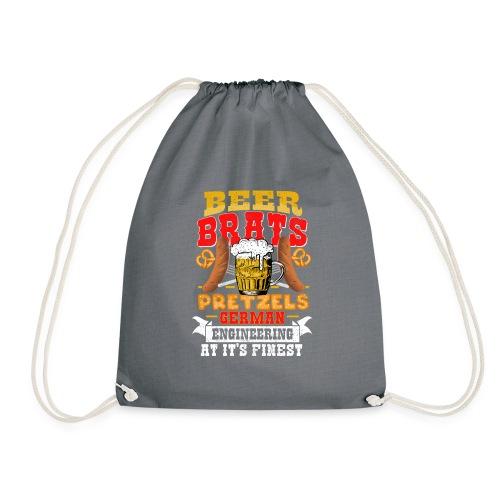 Bier, Bratwurst, deutsches... - Turnbeutel