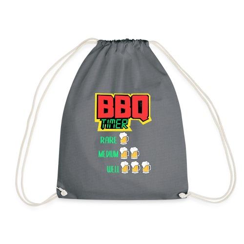 BBQ Timer BIER - Turnbeutel