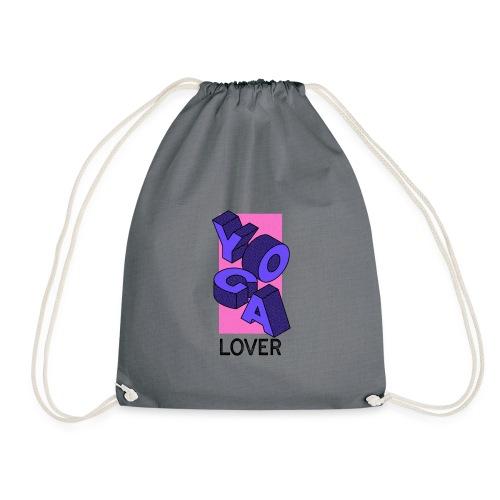 YOGA LOVER BLUE - Mochila saco