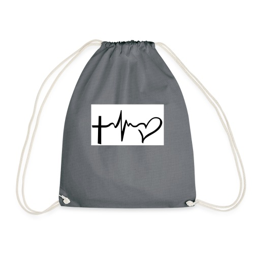 Hope,Live,Love - Drawstring Bag