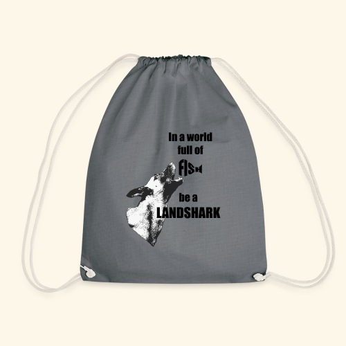 Landshark - Drawstring Bag