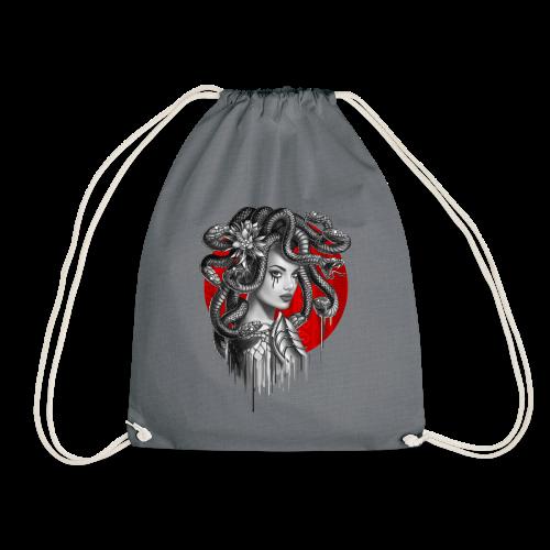 Snake Head Girl Medusa - Drawstring Bag
