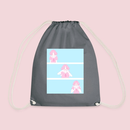 I like you! - Drawstring Bag