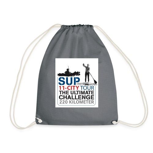 SUP11 City Tour Logo Shirt - Drawstring Bag