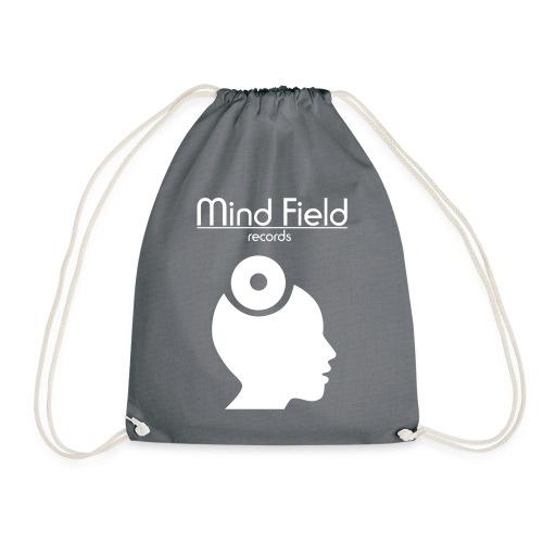 FinWhite MindFieldLogoLAR - Drawstring Bag
