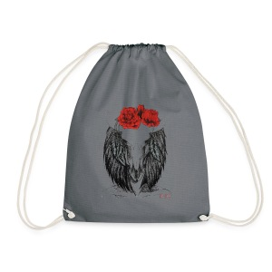 Zodiac Signs -Taurus - Drawstring Bag