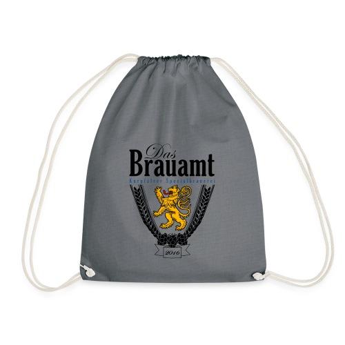Brauamt Logo schwarz - Turnbeutel