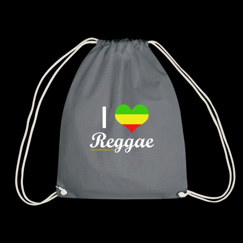 I LOVE Reggae - Turnbeutel
