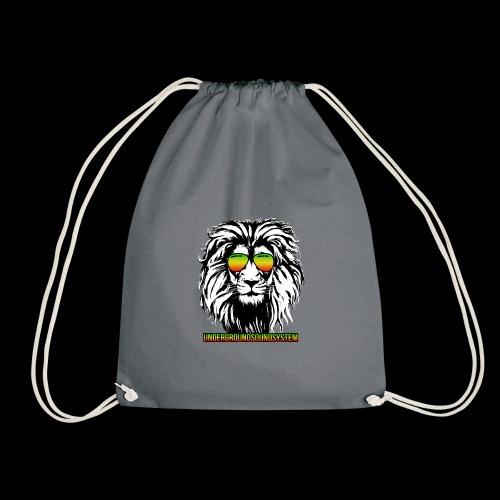 RASTA REGGAE LION - Turnbeutel
