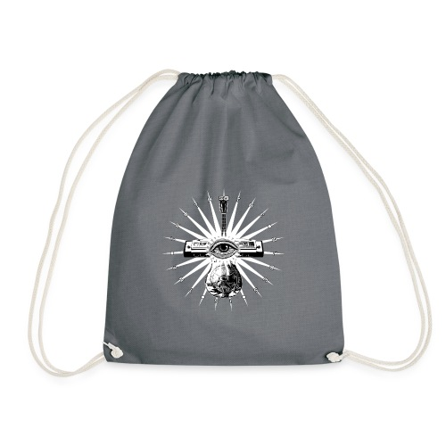 Blues Is The Truth - white star - Drawstring Bag