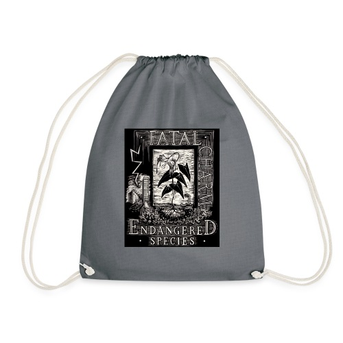 fatal charm - endangered species - Drawstring Bag