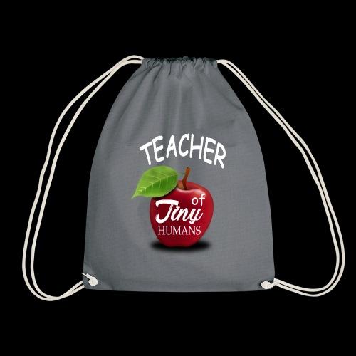 Lehrer kleine Menschen - Turnbeutel