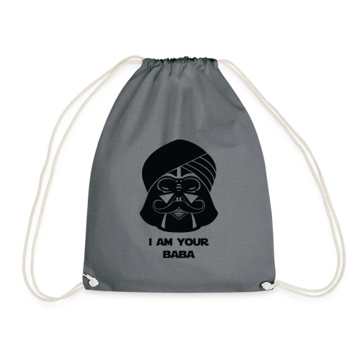 baba_tshirt-01 - Drawstring Bag