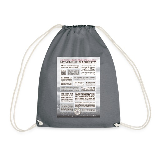 Movement Manifesto - Drawstring Bag