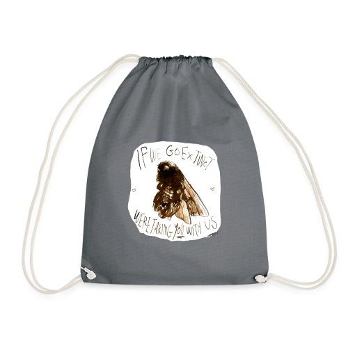 the bee - Drawstring Bag