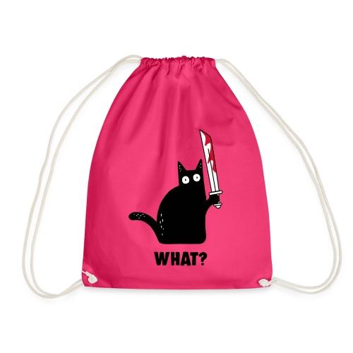 Buhurt Cat - Drawstring Bag